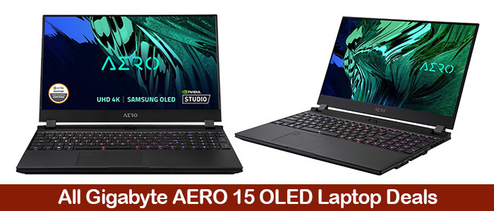 Gigabyte AERO 15 OLED Gaming Laptops Deals, Coupons,Discounts, and Black Friday Sales 2021