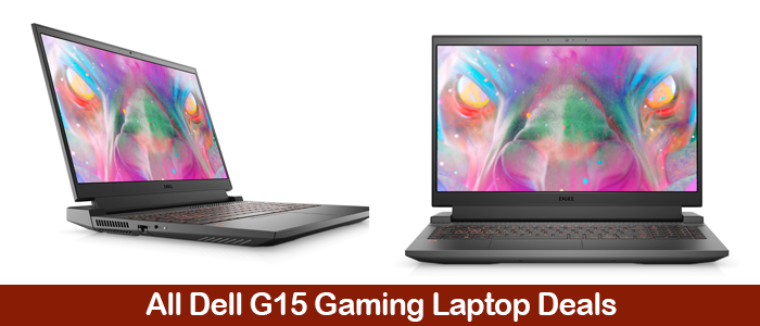 Dell G15 5510 Gaming Laptops Deals, Promo Codes, Coupons, and Black Friday Sales 2021