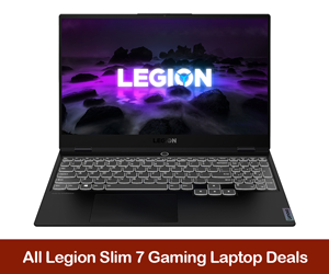 Lenovo Legion Slim 7 eCoupon Codes, Discounts, and Deals Black Friday 2021