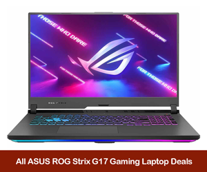 ASUS ROG Strix G17 Coupons, Promo Codes, and Deals Black Friday 2021