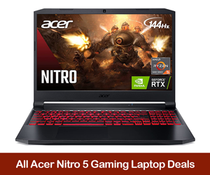 Acer Nitro 5 Coupons, Sales, Promo Codes, and Black Friday Deals 2021