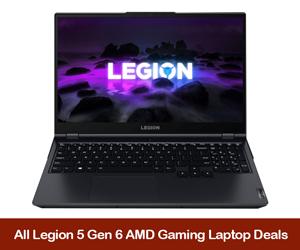 Lenovo Legion 5 eCoupons & Deals Black Friday 2021