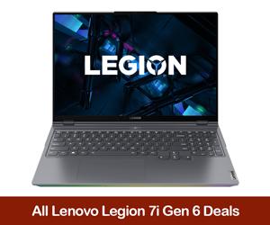 Lenovo Legion 7i Coupon Code, Discount Sales, and Black Friday Deals 2021