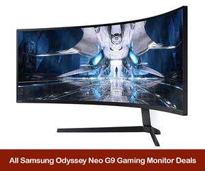 Samsung Odyssey Neo G9 Coupons, Promo Codes, Discount Sales, and Black Friday Deals 2021