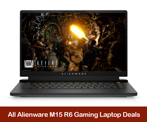 Alienware m15 R6 Coupons, Sales, Promo Codes, and Deals Black Friday 2021