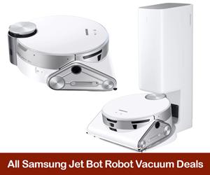Samsung Jet Bot Robot Vacuums Coupons, Promo Codes, Sales, & Deals Black Friday 2021