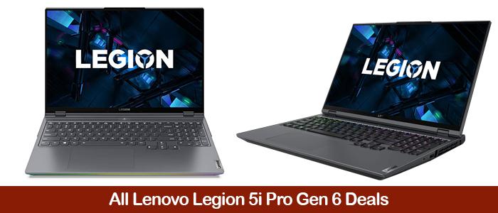 Lenovo Legion 5i Black Friday Deals