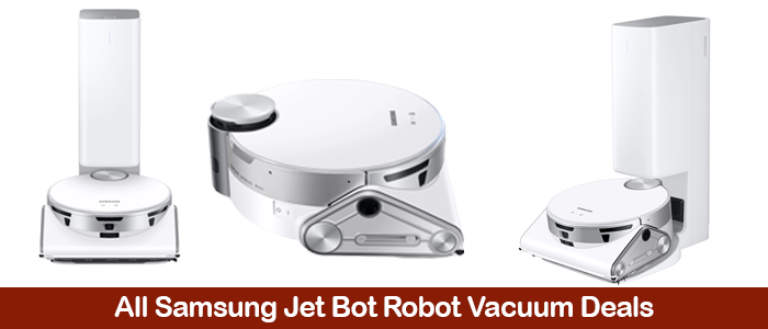 Samsung Jet Bot Robot Vacuums Deals, Discount Coupons, Promo Codes, and Sales Black Friday 2021