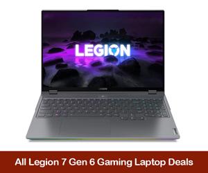 Lenovo Legion 7 Gen 6 eCoupons, Promo Codes, Discount Sales, & Black Friday Deals 2021