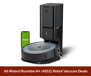 iRobot Roomba i4+ Coupons, Sales, Promo Codes, & Black Friday Deals 2021