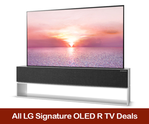 LG Signature OLED R Rollable 4K TV Deals, Coupons, Promo Code, and Sales Black Friday Deals 2021