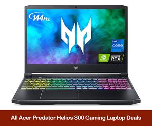 Acer Predator Helios 300 Coupons, Sales, Promo Codes, & Deals Black Friday 2021