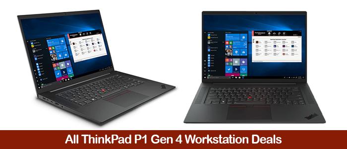Lenovo ThinkPad P1 Gen 4 Deals, Cart eCoupon Codes, Promo Discounts & Sales Black Friday 2021