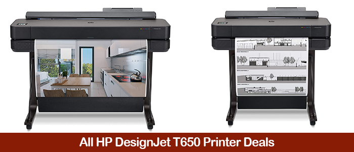 HP DesignJet T650 Deals, Price Drops, Discount Promo Codes, Coupons, and Black Friday Sales 2021