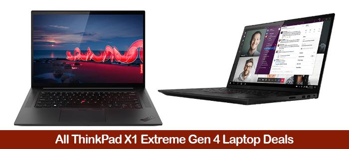 Lenovo ThinkPad X1 Extreme Gen 4 Deals, Cart eCoupon Codes, Promo Discounts & Sales Black Friday 2021