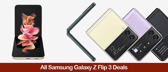 Samsung Galaxy Z Flip3 5G Deals, Discount Coupons, Promo Codes, and Sales Black Friday 2021