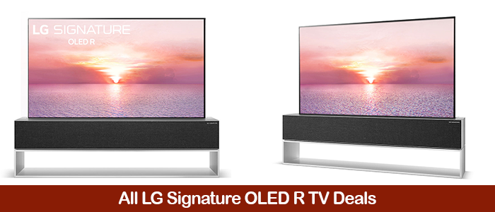 LG Signature OLED R Coupons, Promo Code, Sales, and Deals Black Friday Deals 2021